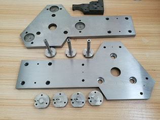 Stainless machined parts